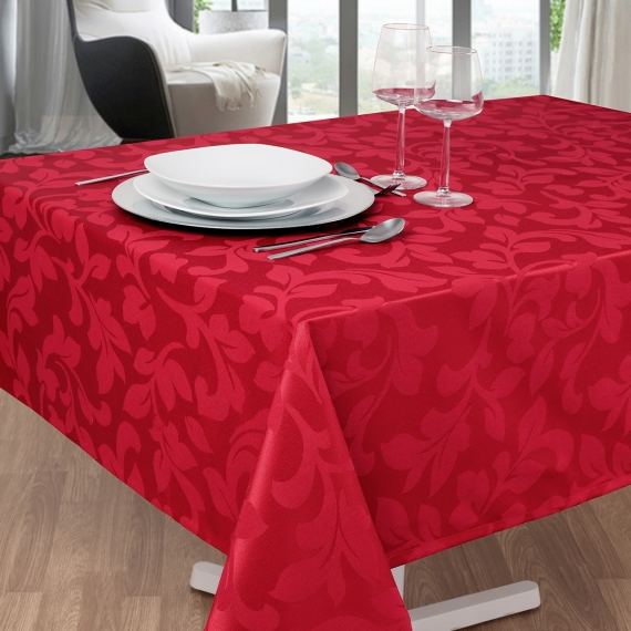 Adamasco Jacquard Tablecloth