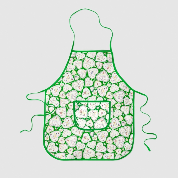 Quilted Print Apron (4un pack)
