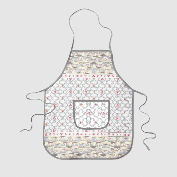 Quilted Print Apron